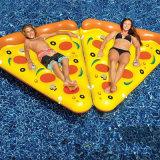 Пицца-образный надувной плавательный бассейн с плавающей запятой коврик для воды