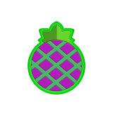 Design personalizado a qualquer forma de PVC frutos coloridos frigorífico / Cola para magneto de Borracha