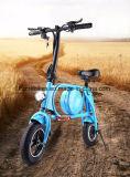 リチウム電池が付いている電気自転車を折る400W