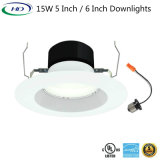 12With15With20W LED Downlight Umbau-Leitblech-Ordnung mit UL-Energie-Stern