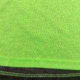 タンクトップ、卸し売りカスタム縦桁の女性のためにセットされる通気性のDriの適当なヨガの体操の適性のワイシャツの一重項のタンクトップの摩耗