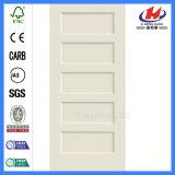 Отлитая в форму дверь трасучки узловатой панели нутряная деревянная (JHK-SK05-1)