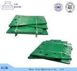 Placa de la quijada de Toogle de los recambios de la trituradora de quijada de Nordberg Metso C145 del bastidor del manganeso