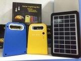 Jogo solar da iluminação da C.C. do uso Home novo com função cobrando móvel