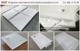 Твердый поверхностный белый самомоднейший поднос ливня ванной комнаты (171127)