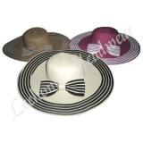 Heiße Sommerfedora-Stroh-Wannen-Hüte