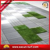 Alfombra de césped artificial de enclavamiento de mosaico de pasto