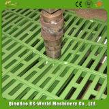 Láminas de plástico cerdo piso para el equipo de la cría de animales/fuga de la placa de estiércol