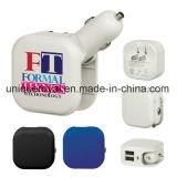 Aufgeführte AC/USB Auto-Aufladeeinheit Doppel-Port UL-