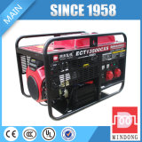 Générateur d'essence d'Ec3000e avec le début électrique et les roues