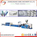Linha de produção do perfil da porta Machine/PVC do indicador do PVC