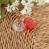 3g 5g en plastique transparent ronde Jar