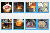 IGBT Mittelfrequenzschmelzendes Induktions-Heizungs-Ofen-schmelzendes Aluminiumaluminium 0.5-200 Kilogramm