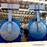 El diámetro de 2,85 m de ladrillos de hormigón celular Autoclave con Calefacción de vapor