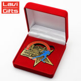 China haciendo Buda de Oro de plata conmemorativa de recuerdos en blanco cobre Coin