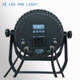 Для использования вне помещений промойте IP65 водонепроницаемый 18ПК этапе 18Вт Светодиодные PAR лампы