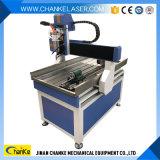 Гравировальный станок 6090 CNC металла 3D Китая малый деревянный