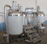 cerveza de barril 1000L que procesa el tipo maquinaria para la cervecería micro