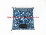 Nueva casa azul modificada para requisitos particulares del gato del amortiguador del animal doméstico del animal doméstico casa impermeable