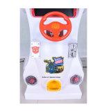子供(ZJ-TF-24)のための運動場装置のレースカーのアーケード機械
