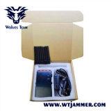 Jammer UHF VHF WiFi 8 Jammers антенны Handheld и сигнала телефона 3G 4glte 4gwimax