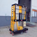 Luftarbeit-Plattform (doppelte Maste) für 10 M
