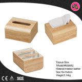 Oficina de gracia al por mayor de tejido de cuero Box (8586)