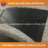Desgaste elevado - placa resistente da soldadura de aço para o concreto