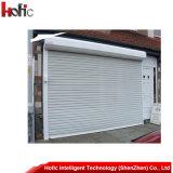 Алюминиевая дверь /Automatic ролика свертывая дверь/дверь штарки завальцовки/электрическую дверь штарки ролика