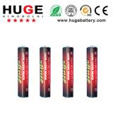 Alimentación 1.5V tamaño AAA pilas secas de zinc de carbono para el mando a distancia(AAA R03 UM-4)