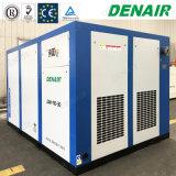 Vent refroidissant le compresseur d'air à haute pression branché stationnaire de vis de raccordement direct