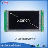 5.0 Bildschirmanzeige LCM des Zoll-800X480 TFT