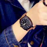Sport-Edelstahl-Rückseiten-Form-Dame Mens Quartz Luminous der Förderung-H341 Armbanduhr