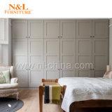 N&L 현대 나무로 되는 옷장 침실 저장 가구