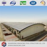 Estrutura de aço leve Prefab Sinoacme Galpão de oficina no Quênia