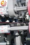 Totalmente automático de alta velocidad caja de cartón plegado y encolado de máquina de costura