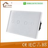 interruptor alejado del amortiguador 1way o 2way de 110V~220V para las luces del LED