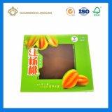 Cadre ondulé de empaquetage personnalisé de carton d'impression de fruit rigide polychrome de carambolier