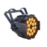 段階DMX 18PCS 10W RGBW DJ LEDの同価ライト
