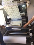 Papel/máquina que lamina plástica