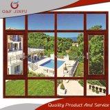 Tissu pour rideaux en verre en aluminium Windows des excellents d'ouverture de qualité prix en métal meilleurs