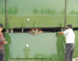 3*1400m3 de reatores UASB Biogás