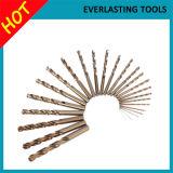 Буровые наконечники кобальта хвостовика 5% електричюеских инструментов M35 прямые