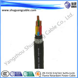 Пламя - кабель электропитания панцыря ленты retardant оболочки PVC изоляции XLPE стальной