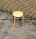 Дуб многоместного двойной Tenon цельной древесины столовой таблица табурет многоместного оптовой глохнет гостиной табурет усилить циркуляр Складной стул (M-X3304)