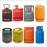 Cilindro de gás de aço do LPG do mercado de Kenya que cozinha o gás