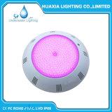 indicatore luminoso subacqueo della piscina di colore riempito resina LED di 12V IP68 RGB per il raggruppamento