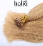 Capelli diritti Brown dei capelli umani di Remy estensione dei capelli della cheratina da 18 pollici