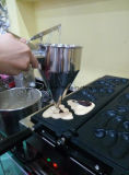 Commerical 디지털 와플 제작자 뚱뚱한 불타는 Poo 와플 굽는 틀