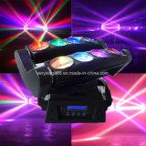 Новое 8 освещение DJ случая согласия CREE СИД 10W RGBW